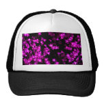 Glowing Pink Flower Lights Cap