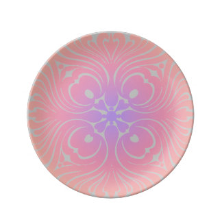 Glowing Pink Plate