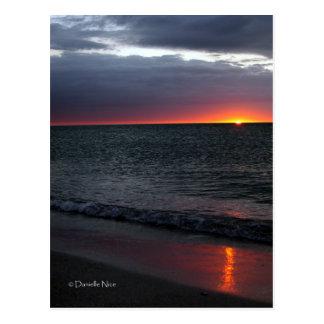 Glowing Postcard