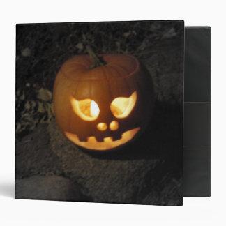 Glowing Pumpkin Binder