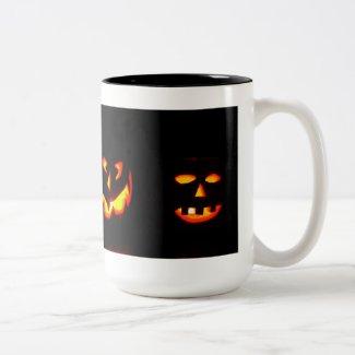 Glowing Pumpkin Coffee Mug Halloween