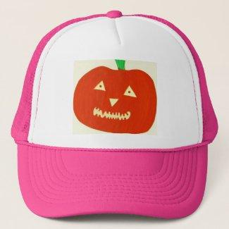Glowing Pumpkin Hat