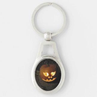 Glowing Pumpkin Keychain