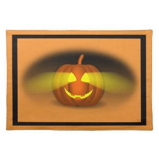Glowing Pumpkin - Placemat