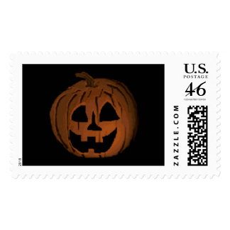 Glowing Pumpkin Stamps