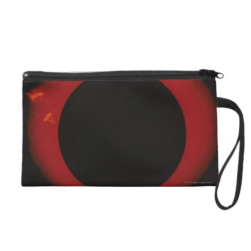 Glowing Red Corona Wristlet Clutches