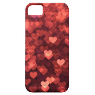 glowing red hearts iPhone SE/5/5s case