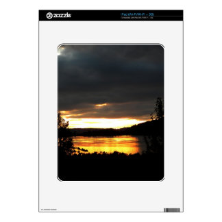 Glowing River Decal For The iPad