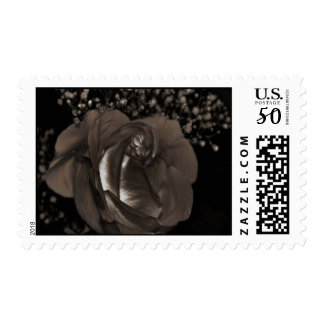 Glowing Rose Postage