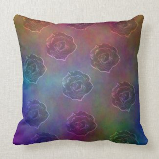 Glowing Roses pillow