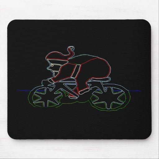 Glowing Santa's Pushy Mouse Pad