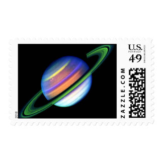 Glowing Saturn Stamps