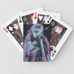 glowing scary skeleton card decks