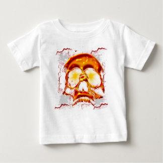 Glowing Skull Baby T-Shirt