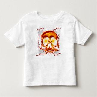 Glowing Skull Toddler T-shirt