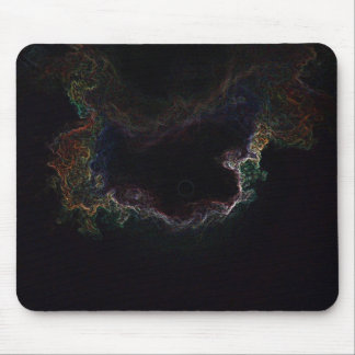 Glowing sky mouse pad