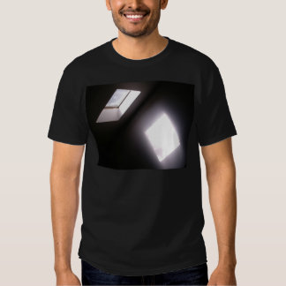 Glowing Skylight Window Minimalist Geometric Photo T-Shirt