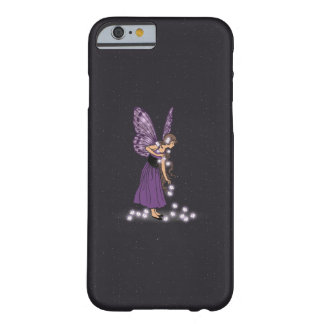 Glowing Star Flowers Pretty Purple Fairy Girl Barely There iPhone 6 Case