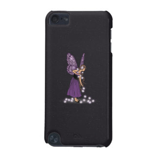 Glowing Star Flowers Pretty Purple Fairy Girl iPod Touch (5th Generation) Case