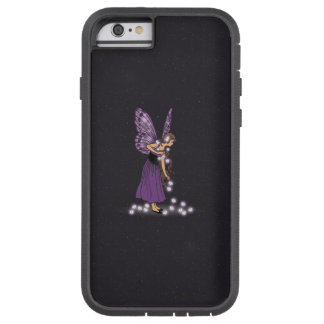Glowing Star Flowers Pretty Purple Fairy Girl Tough Xtreme iPhone 6 Case