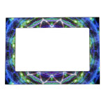 Glowing Star Kaleidoscope Picture Frame Magnet