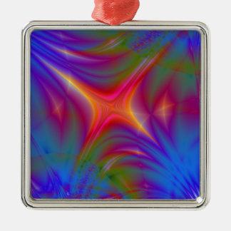 Glowing Star Metal Ornament