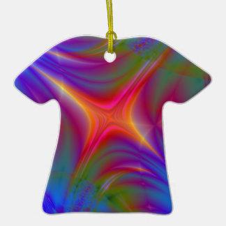 Glowing Star Ceramic T-Shirt Decoration