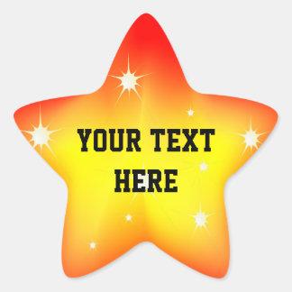 Glowing Star Sticker