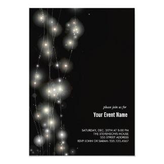 Glowing Stars  Invitation