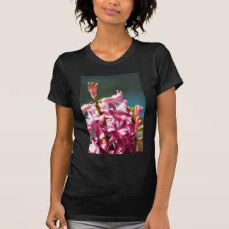 Glowing Sunlit Pink Hyacinth Blossoms T-Shirt