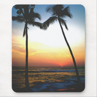 Glowing Sunset Mouse Pad