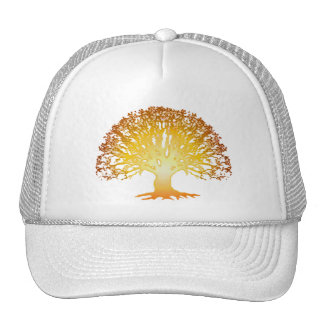 Glowing Tree Cap Trucker Hat