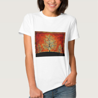 GLOWING TREE OF LIFE-VINTAGE T-SHIRTS