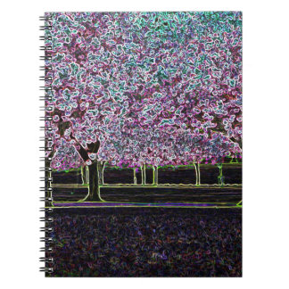 Glowing Trees Notebook