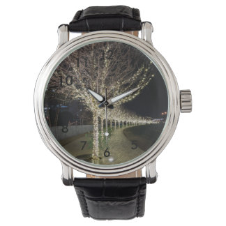 Glowing Trees Walkway Watch