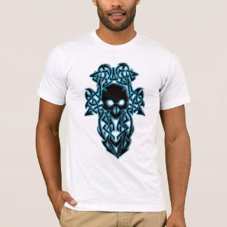 Glowing Tribal/Celtic Skull shirt