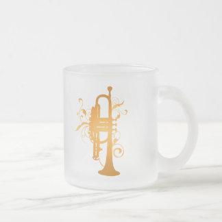 Glowing Trumpet Music Gift Mugs