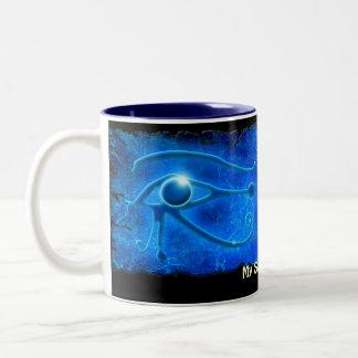 Glowing WADJET EYE OF HORUS Gift Mug