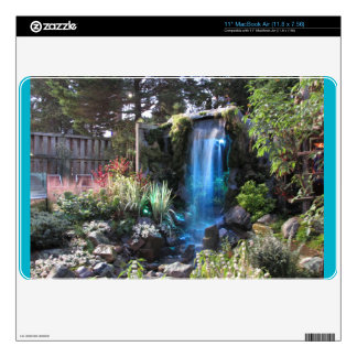 """Glowing Waterfall-skin for macbook for 11"""" Decal For MacBook Air"""