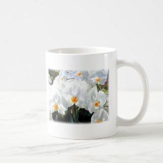 Glowing White Phalaenopsis Orchids Classic White Coffee Mug