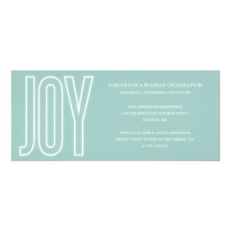 GLOWING WITH JOY | HOLIDAY PARTY INVITATIONS