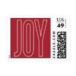 GLOWING WITH JOY | HOLIDAY POSTAGE