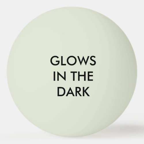 Glows _ Glow_in_the_Dark Green Ping_Pong Ball