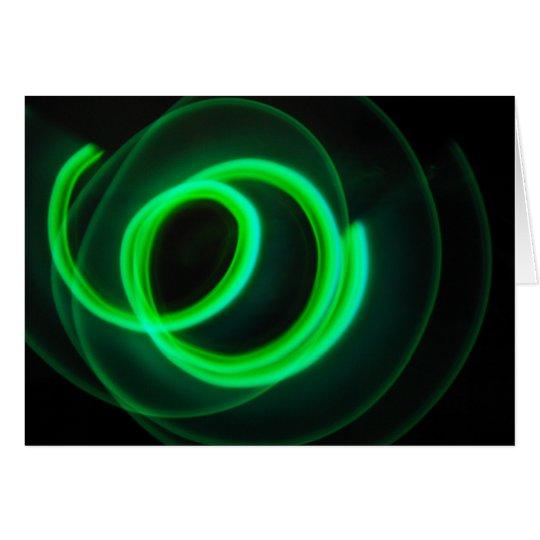 Glowstick Motion Card
