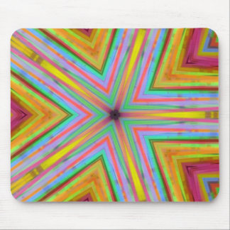 Glowstick Star Mouse Pad