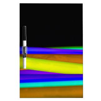 Glowsticks Dry Erase Board