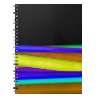Glowsticks Notebook