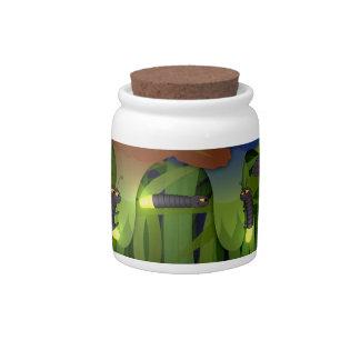 Glowworms Candy Jar