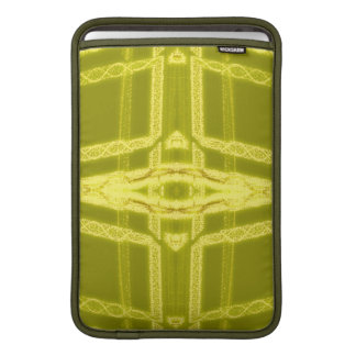 Glowy Eye - Weird Yellow Abstract Sleeve For MacBook Air