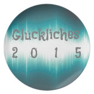 Gluckliches 2015.jpg plato para fiesta